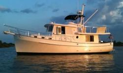 Many boaters will spot this boat on the horizon and almost immediately know this is a Kadey-Krogen. The discriminating yachtsman may even know the model. From the keel up this 39 Happy Boat Kadey is built with the cruising couples in mind. Her