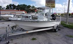 2001 Kenner with a 2011 Mercury Optimax 90 and aluminum trailer.  Boat is rigged with a power pole, t-top, trolling motor, livewell, GPS/Depthfinder, and more. Nominal Length: 18' Length Overall: 18.2' Beam: 7 ft. 6 in.