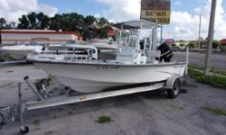 2001 Kenner with a 2011 Mercury Optimax 90 and aluminum trailer. Boat is rigged with a power pole, t-top, trolling motor, livewell, GPS/Depthfinder, and more.DisclaimerThe Company offers the details of this vessel in good faith but cannot guarantee or