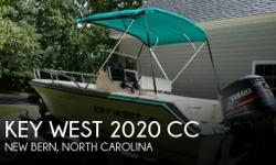 Actual Location: New Bern, NC - Stock #092399 - Key West CC is ready for fishing season!For sale is a 2001 Key West 2020 Center Console in great condition for its age!This boat is powered with a 2001 Yamaha 150 TXRZ two stroke outboard with an estimated