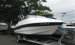 NEW INVENTORY 2001 Larson 220 Sport Cabrio This Larson 220 Cabrio is a Super Clean Cruiser w/ lots of options for pleasure or fishing! This boat comes w: Volvo Penta 5.0 Bimini Top Side Curtails & Aft Cover Cockpit Cover Garmin GPS 128 Garmin 420 FF/DF