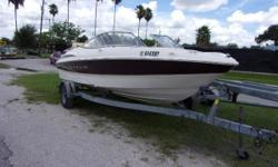 2001 Maxim 1800 with a 125 Mercruiser engine and galvanized trailer.  Nominal Length: 18' Length Overall: 18' Beam: 7 ft. 6 in.
