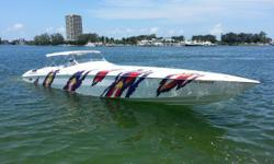 Reduced Price !!! Sellers Looking For Offers !!!! One owner triple Yanmar diesel with low hours.Meticulously cared for by the owner and indoor stored while not in use.The 5000V has superior rough water capability,excellent fuel economy,and large
