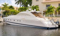 2001 Princess V65. In overall good condition.   Price include Frequency Converter  Located in Key Largo. US Duties Paid.  Owners motivated. Make Offers.    Nominal Length: 65' Length Overall: 69.1' Max Draft: 4.3' Draft: