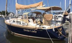 Sails like a dream!! Easily handled by a couple and absolutely beautiful. This Sabre 362 is available now and ready to sail. She will be hauled and covered very soon. Call the listing agent and make an appointment as soon as you can. She should sell soon,
