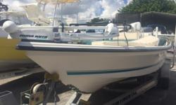 2001 Sea-Pro Boats 210 Yamaha 150 hp V6 Salwater Series ? Hydraulic Steering ? Jackplate ? Power Pole ? Minn Kota Trolling Motor ? Bow Cushions ? Bimini Topp Details ? Length: 20 ft. 6 in. ? Beam: 8 ft. 6 in. ? Propulsion Type: Outboard ? Hull Material:
