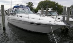 2001 340 Sundancer in excellent condition w/ 6.2L MerCruisers! Low hours, boat has been professionally maintained and is loaded!   751 hours on twin 6.2L FWC MerCruiser V-Drives 240 hurs on Westerbeke Generator New Garmin touch screen chart plotter