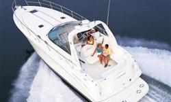 (LOCATION: Tarpon Springs FL) The Sea Ray 380 Sundancer is a family-sized express designed for day cruising and weekend getaways. She features a large open cockpit with ample seating and a spacious mid-cabin interior. On deck we have a spacious cockpit