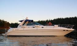 New to market!  Clean and ready for summer cruising! The awesome power of the MerCruiser 8.1S Horizon engines and V-Drives makes the 410 Sundancer an all-time favorite for cruising coastlines, island hopping, and just all around enjoyable exploring