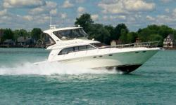 (ORIGINAL OWNER) BOASTING ALL OF THE MOST SOUGHT AFTER OPTIONS THIS 2001 SEA RAY 480 SEDAN BRIDGE IS AMONG ONLY A FEW AVAILABLE CURRENTLY IN THE GREAT LAKES REGION -- PLEASE SEE FULL SPECS FOR COMPLETE LISTING DETAILS. LOW INTERESTED EXTENDED TERM