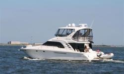 2001 56' Sea Ray Sedan Bridge -- Well Maintained Vessel Loaded with Upgrades  Options Include: Hydraulic Swim Platform, Upgraded Garmin Electronics, 4K Inverter, Bow Thruster, Bridge A/C + Much More!!  *****Best Priced 2001 56' Sedan