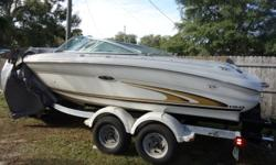 2001 Sea Ray 190 Signature Bow Rider Same owner since 2003 2017 Mercruiser 357 engine nstalled by Mercury dealer at a cost of $10,000. Less than 20 hours. Cockpit cover Dual batteries Call Scott for more information at 813-926-2400. Beam: 8 ft. 5 in. Fuel