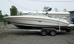 2001 Sea Ray Signiture 230 BR $19,900 23 Ft. Bow Rider, 2001 5.7 LTR Mercruiser, Bimini Top, Full Boat Cover, Bow and Cockpit Covers, Depth Sounder, Stereo CD Player, Pressure Fresh Water System, Dual