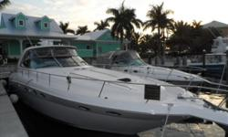 Very clean low hour vessel. Hard Top, Cummins Diesels, Bow Thruster, KVH Sat TV system, Bose system, Cockpit Air Conditioning install in 2008 by Huckins Yacht Corp. Hydraulic swim platform and more. The Vessel came from the fresh waters of the St. Johns