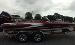 2001 Triton TR-21 paired with a Mercury 225 Nominal Length: 21' Length Overall: 21' Engine(s): Fuel Type: Other Engine Type: Outboard Beam: 1 ft. 1 in. Stock number: 2001 Triton