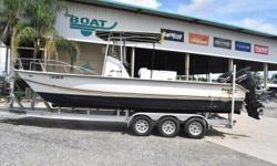 2001 Twin Vee 26, **NEW TRIPLE AXLE TRAILER** **2015 SUZUKI MOTORS**Call: Jarred 504-201-5159 Email: boatyardjarred@gmail.com2001 Twin Vee 262015 Suzuki FS 115 HP2018 McClain Triple Axle Trailer with Torsion BarsTwin Vee makes some of the smoothest riding