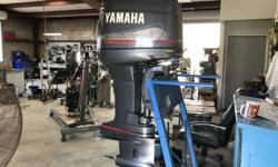 For sale is a great Yamaha Outboard Motor. This 2001 Yamaha 150 is running great! This motor is a great deal and we are willing to accept reasonable offers! The motor also comes with a onboard oil tank. Stock number: 6G4 X 0545