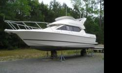 New to market..Well kept cruiser. NO TRAILER. Low hours on the Mercruiser 496 Mag (2007). Full bridge enclosures, AC/Heat, Windlass, 1800 watt inverter, Chart plotter and VHF. Owner motivated and awaiting offers. Please contact David for additional info
