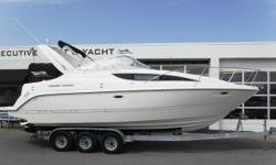 MerCruiser 350 MAG MPI engine, no hour meter Compression in 2017: 130-150 lbs. Bravo III dual-prop sterndrive w/stainless props New drive & motor oil ? in 2018 New spark plugs, blower, trim sending unit & starter in 11/2017 Pacific 3-axle galvanized