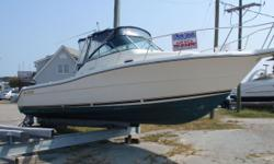 THIS PURSUIT IS A NICE EXAMPLE OF A FISHING MACHINE WITH CRUISABILITY!! SHE IS READY FOR HER NEW OWNERS! Major Price Reduction!!!!!! Oct 4th The 3070 Express continues to impress boaters and anglers with her features and comfort. Her ride is extremely