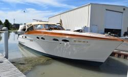 Custom one-of-a-kind hand crafted boats from Mayea Boat Works go back over 100 years. Abbracci (Italian for embrace) is available for a yachting enthusiast that can recognize and afford excellence. Trades considered. CANVAS BIMINI TOP MOORING COVER