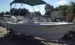 Here's Your Boat !!A well kept Aquasport with a lot of options. It has a Lowrance 5 series, bimini top, cd player, dual batt. with switch, swim ladder, raw water washdown with two ports. Price includes boat, motor, and trailer.Hurry! The boat your