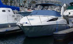 The Bayliner 2855 is a great first boat.  It is small enough to be trailerable, but can also sleep six in comfort. This boat is in good condition, and had a new engine installed in 2011 with only 50 hours since. Call now and be on the water