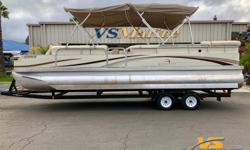 2002 BENNINGTON 2575 FSIO for sale at VS Marine in Atascadero CA. Call today for details 805-466-9058 or email shawn@vsmarine.com or kris@vsmarine.com Engine(s): Fuel Type: Gas Engine Type: Stern Drive - I/O Quantity: 1 Draft: 3 ft. 0 in. Beam: 8 ft. 6