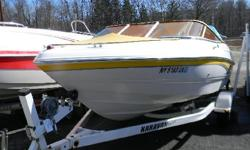 *** W/VOLVO 4.3/BIMINI-BOW & CP COVER/FRESH WATER/TRAILER/ *** Chaparral Boats is the name when looking for a quality boat! This runabout features all the styling and quality that has made Chaparral one of the best names in the industry! This sporty