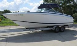 Very nice Cobalt 292 which shows well throughout.This a large bow rider withan overall length of 29 feet 6 inches and a 9-foot 6-inch beam.Great layout and ample seating for a large crew with rough water capabilities.Cobalt boats are built to last