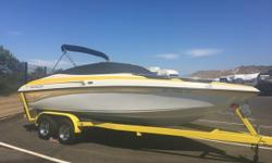 2002 Crownline 225BR Selling loved and very well maintained 2002 Crownline 225BR and Smart Trailer Perfect family boat! Single owner Originally purchased for $41250 Never been in salt water! Has yearly service records New tires New buddy bearings Routine