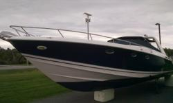 2002 Donzi 39+ ZSC Cruiser, Twin 500 EFI?s, Bravo III Drives, Extended Hydraulic Platform Jetski Lift, Teak Cockpit Upgrade, AC / Heat, Generator, Bow Thruster, Cockpit Cover, Camper Canvas Enclosure, TV/DVD/Stereo, Front Sun Pad, Leather Cabin with