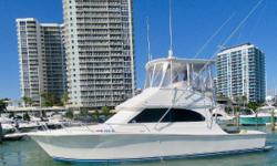 An Egg Harbor is in outstanding condition!2015 REFIT - BOTH CATERPILLAR 3126 Engines Completely Re-Bilt March 2017! Designed By Fishermen For Fisherman with a Saloon that will delight the Ladies! All new custom Wood Flooring throughout! Original Egg