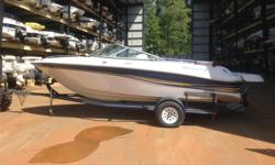 Great cruising boat in excellent condition. 5.0 GXI Volvo Inboard/outboard motor Trailer included one owner and well taken care of. Has full enclosure as well as high bimini top Come by to see this nice boat Beam: 8 ft. 6 in. Depth fish finder; Boat