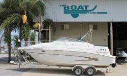 2002 Glastron GS-249/SP, NEW UPHOLSTERY!2002 Glastron GS-249 SPStock # 8165LOW HOURS! FINANCING AVAILABLE! 250 hp!WAS $25995NOW ONLY $15995 VERY CLEAN 2002 Glastron Runabout Model GS-249/SP MerCruiser 5.7 engine with Alpha One Out drive ONLY 110 HOURSThis