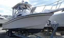 Preliminary listing Please check back for details, or call now. Aggressivelypriced to Sell...all offers considered. The 282 sailfish is one of the best selling offshore fish boats ever produced. Grady White's reputation for quality construction is