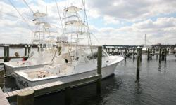 JUST LISTED! The Henriques 38 El Bravo was designed for the die hard offshore fisherman. Her heavy weather hull, same as the 38 Sportfisherman, can take on the worst sea conditions with her unique design. It's powered with a set ofreliable