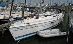 RECENT PRICE REDUCTION on a Well Equipped and Cruise Ready Three Cabin Cruiser! DREAMTIME is a 2002 Cutter Rigged Hunter 466 aft cockpit cruiser with Bow Thruster capable of handling long distance offshore journeys, island hoping or used as a comfortable