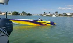 2002 hustler slingshot 388 poker run edition Custom paint Rick Hendrcks motorsports 540 whipple charged engines pump gas 650 hp. Motors only have 4lbs. Of boost. Quick change water pumps Custom marine Big tube headers Sea strainers All nascar internals