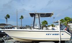2002 20' Key West 2020 CC, 150 HP Yamaha 2 Stroke, 380 Hours on the whole package, T-Top W/ Spray panels, Hydraulic Steering, Trim Tabs, Dual Batteries, Garmin GPS 441, SI-Tex Fish Finder, Aluminum Trailer. $14,900.00 Antonietti Marine 727-862-0776 Beam: