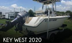 Actual Location: Zellwood, FL - Stock #085837 - Sweet Center Console!A family owned company out of the Carolina's, Key West set out to build a high quality affordable mid sized boat to last a life time. Introduced in 1992 was the NO Wood-No Rot