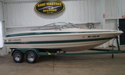 2002 Larson LXI 210 WITH A 5.0GL, 200HP ENGINE WITH A COLOR MATCHED DUAL AXLE TRAILER! GREAT CONDITION! Options include ? Color matched dual axle trailer ? Full cover ? Bimini top with boot ? CD stereo w/speakers ? Stainless ladder, tow hook, grab