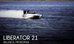 Actual Location: Billings, MT - Stock #065434 - If you are in the market for a high performance, look no further than this 2002 Liberator 21, just reduced to $34,900 (offers encouraged).This boat is located in Billings, Montana and is in great condition.