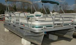 NEW Winter Price ONLY $7,395! If your boating pleasure is fishing and cruising then this is the pontoon for you!! Powered by a Mercury 25 4-stroke Big Foot that will give you lots of optionsfishing and cruising which all equals family and friends fun time