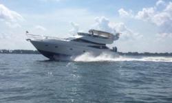 The first thing one notices about the Neptunus 56 Fly Bridge Motor-yacht is the unusual styling; this is definitely not your typical motor yacht design.It's difficult to escape the opinion that the 56 is a bit overstyled. She's built on a