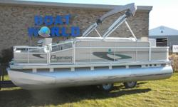 2002 Premier 180 Explorer 18' Pontoon & 40HP Mercury 4-Stroke EFI. Motor Runs Great! This 18' Premier Fishing Pontoon Features, Two Front Swivel Fishing Seats, Wrap Around Bench Seating With Storage And A Live Well, Two Rear Swivel Fishing Seats, Swivel