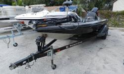2002 Ranger equipped with Minn Kota Trolling motor. 225 Yamaha Vmax outboard and Lowrance depth finder on the dash. Nominal Length: 20' Length Overall: 20' Beam: 8 ft. 0 in.