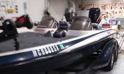 Go fast bass boat. Guaranteed to catch the fastest fish on the lake. Everything is ready to fish, just add water. Nothing pulls better than Opti-power. Trades Considered. General Options AC1438A BATTERY CHARGER DEPTH FINDER DUAL BATTERY FISH FINDER