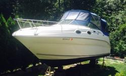 2002 Sea Ray Sundancer 2002 Sea Ray Sundancer model in great condition Very versatile affordable Family boat indeed...! Few Standard Features include.- - A Raised Helm - Stowable Cockpit Table - Mid-Cockpit Seat (reclines to a Sleeper) - Below Cabin below