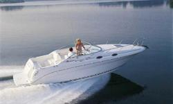 2002 Sea Ray 260 Sundancer 260 HP Mercruiser 5.0L MPI Inboard/OutboardThe Sea Ray 260 Sundancer has the sleek good looks and high-caliber performance expected from a larger, more expensive cruiser. It offers a luxurious cabin that sleeps four and is